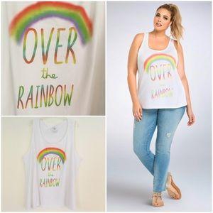 Torrid Wizard of Oz Rainbow Tank Top